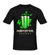 Мужская футболка Monster Energy Glow