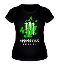 Женская футболка Monster Energy Glow