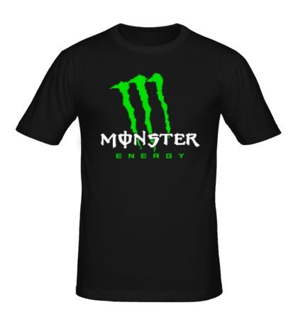 Мужская футболка Monster Energy Logo