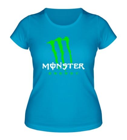 Женская футболка Monster Energy Logo