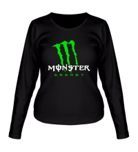 Женский лонгслив Monster Energy Logo