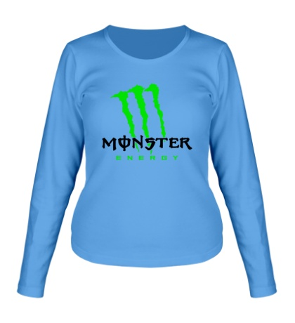 Женский лонгслив Monster Energy Logo