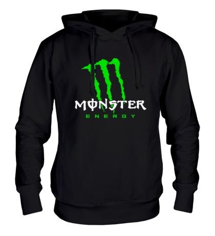Толстовка с капюшоном Monster Energy Logo