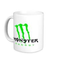 Керамическая кружка Monster Energy Logo