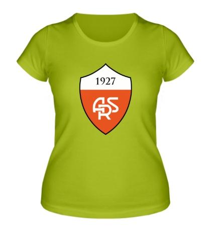 Женская футболка AS Roma Emblem 1927