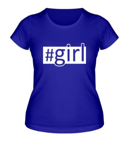 Женская футболка Girl