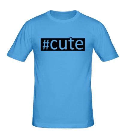Мужская футболка Cute