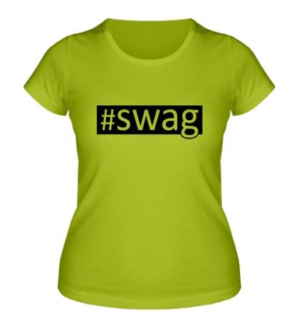Женская футболка Tag SWAG