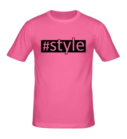 Мужская футболка Style