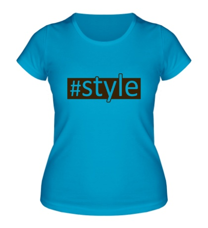 Женская футболка Style