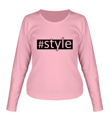 Женский лонгслив Style