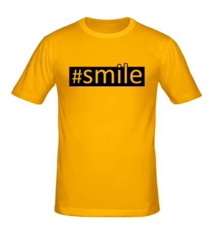 Мужская футболка Smile
