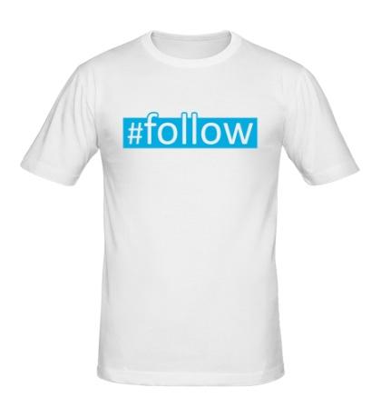 Мужская футболка Follow