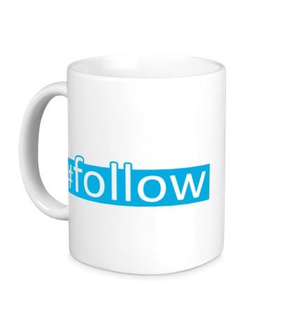 Керамическая кружка Follow