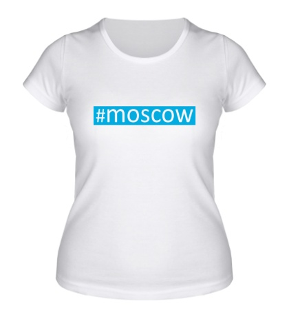 Женская футболка Moscow