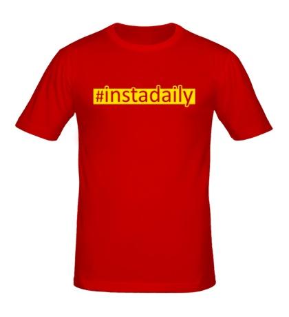 Мужская футболка Instadaily