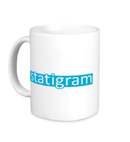Керамическая кружка Statigram
