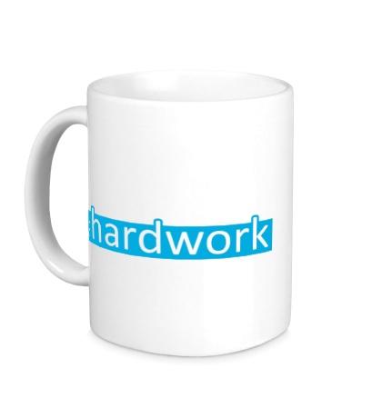 Керамическая кружка Hardwork