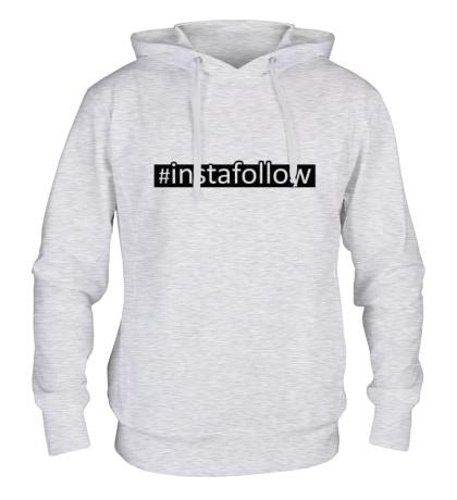 Толстовка с капюшоном Instafollow