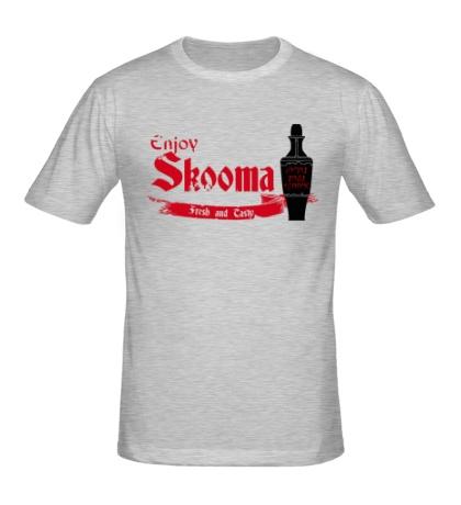 Мужская футболка Enjoy skooma: Fresh Drink