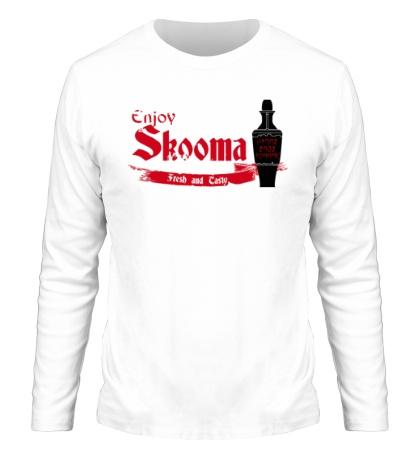 Мужской лонгслив Enjoy skooma: Fresh Drink