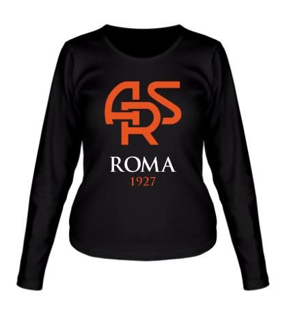 Женский лонгслив FC Roma Sign