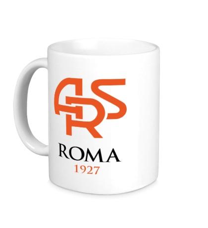 Керамическая кружка FC Roma Sign
