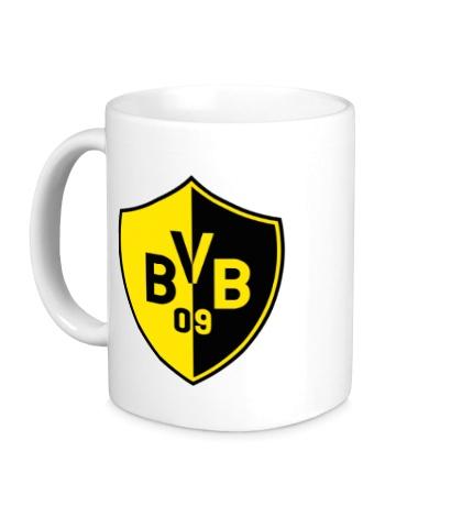Керамическая кружка FC Borussia Dortmund Shield