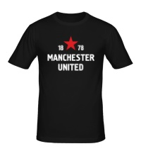 Мужская футболка FC Manchester United Sign