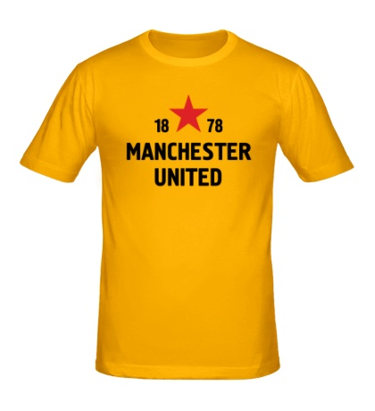 Мужская футболка «FC Manchester United Sign»