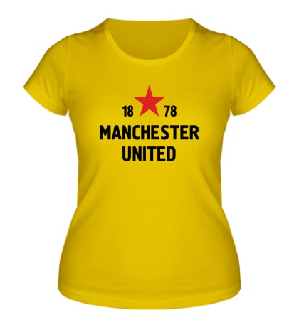Женская футболка FC Manchester United Sign