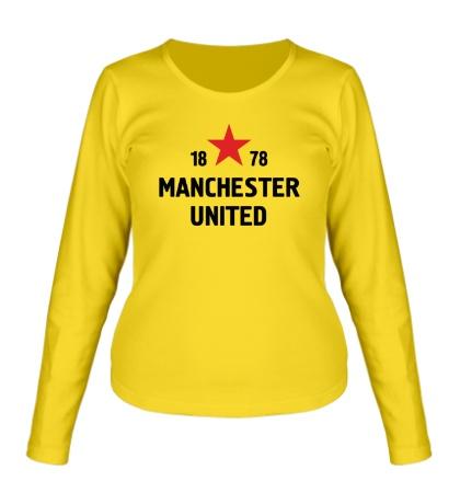 Женский лонгслив FC Manchester United Sign