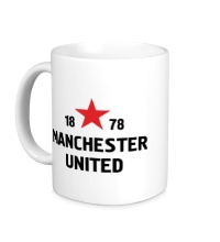Керамическая кружка FC Manchester United Sign