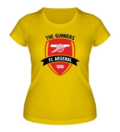 Женская футболка FC Arsenal, The Gunners