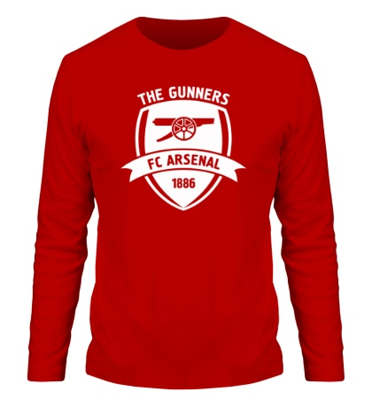 Мужской лонгслив FC Arsenal, The Gunners