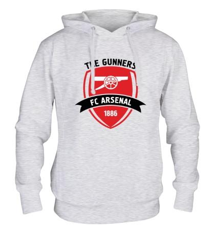 Толстовка с капюшоном FC Arsenal, The Gunners