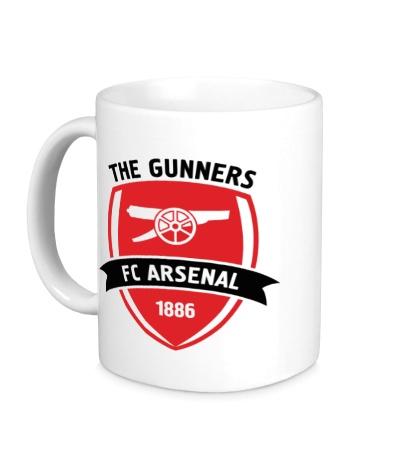 Керамическая кружка FC Arsenal, The Gunners