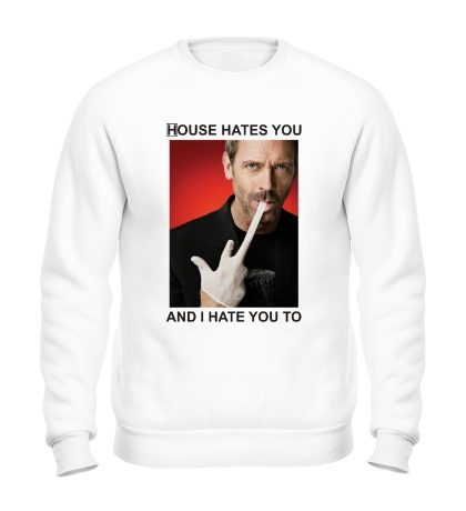 Свитшот House Hates You