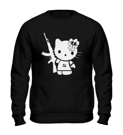Свитшот Kitty Soldier