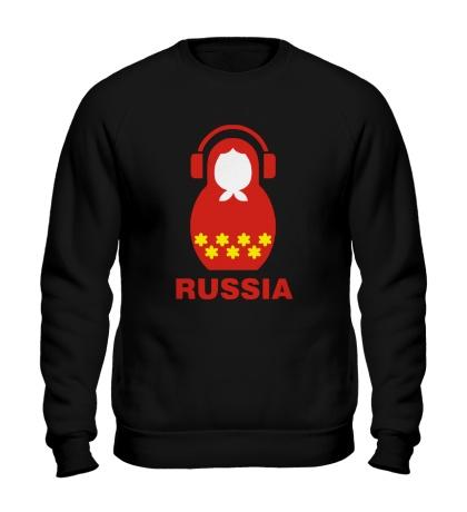 Свитшот Russia dj