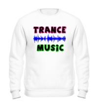 Свитшот Trance music