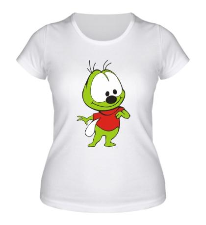 Женская футболка Маленький вжик