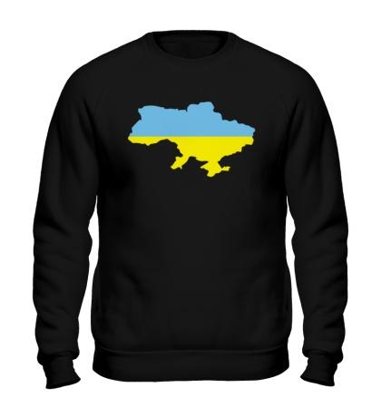 Свитшот Карта Украины