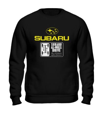 Свитшот Subaru Wheel Drive