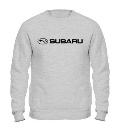 Свитшот Subaru Line