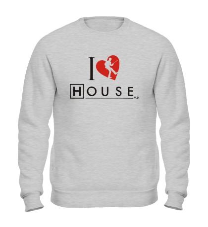 Свитшот I Love House