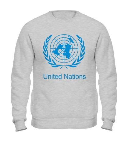 Свитшот Эмблема ООН