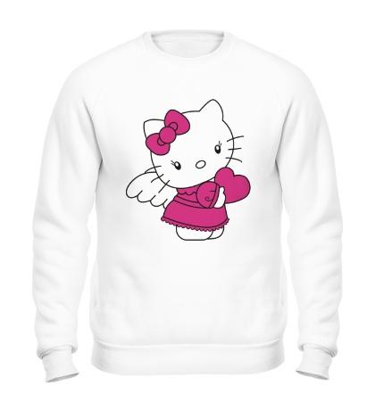 Свитшот Kitty-ангел