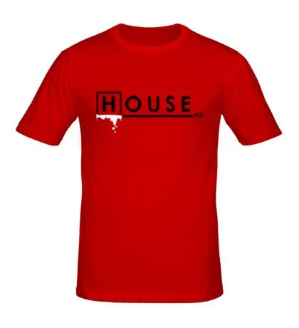 Мужская футболка House MD: Blood