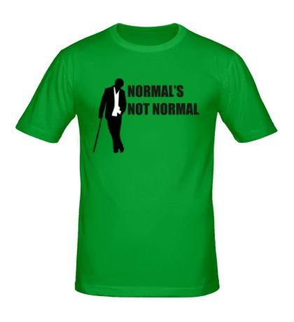 Мужская футболка Normals not normal